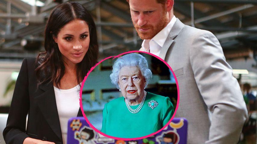 Prinz Harry und Meghan waren bewegt von TV-Rede der Queen