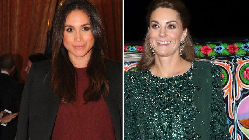 Kritik an Meghan: Wäre Kate vom Palast verteidigt worden?