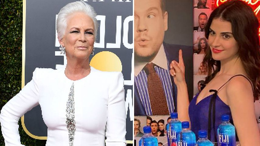 Fiji-Photobomb: Jamie Lee Curtis greift das Water Girl an!