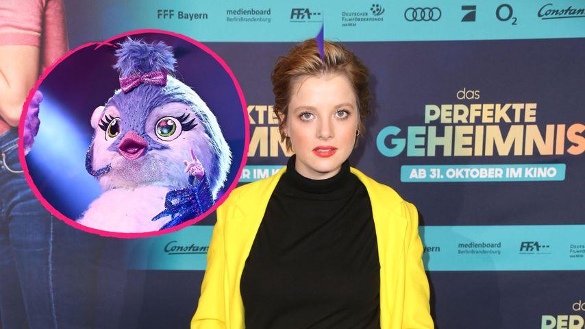 """Netz sicher: Ist Jella Haase """"The Masked Singer""""-Küken?"""