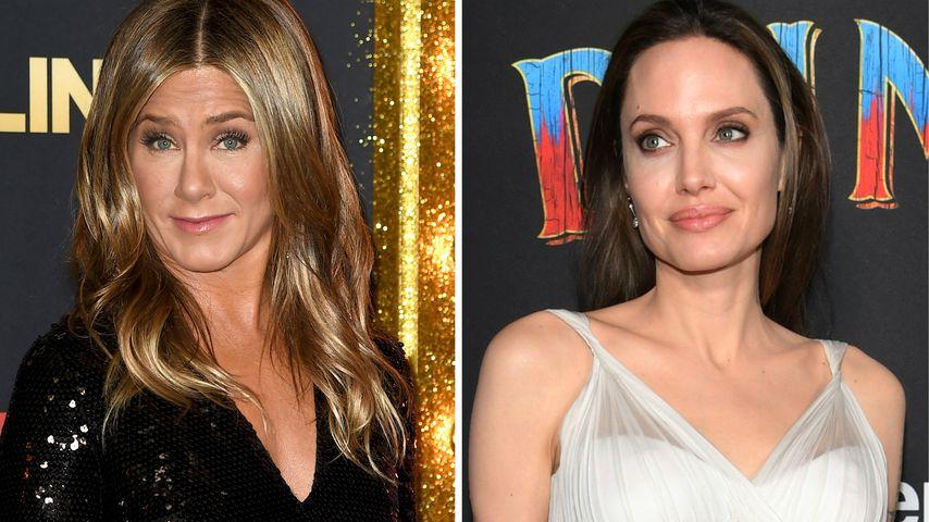 """""""Uncool"""": Jen Aniston über Liebes-Prahlerei von Angelina"""