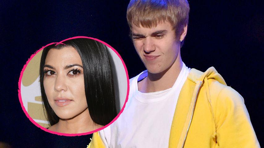 Autsch! Justin Bieber gibt Kourtney Kardashian krassen Korb