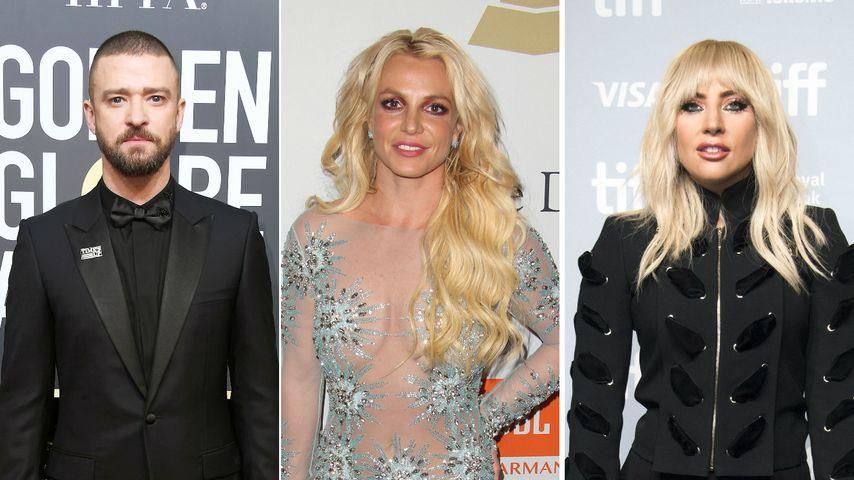 Justin Timberlake: Disst er hier Britney Spears & Lady Gaga?