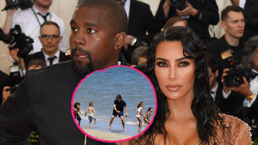 Während Kim-Kanye-Krise: Scott Disick tobt mit ihren Kids