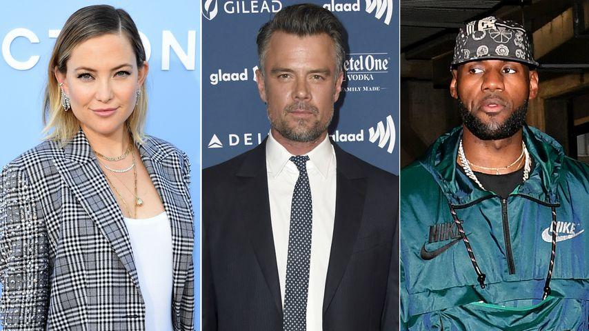 Waldbrände treffen Kate Hudson, Josh Duhamel & LeBron James