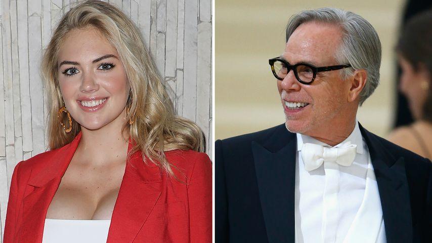 Als Schwanger-Model: Tommy Hilfiger will Bald-Mom Kate Upton