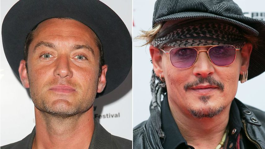 """Harry Potter""-Prequel: Liebes-Paar Jude Law & Johnny Depp?"