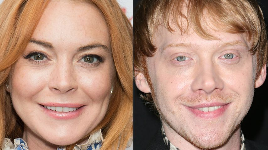 "Redhead-Alarm: Was macht Lindsay Lohan mit ""Ron Weasley""?"