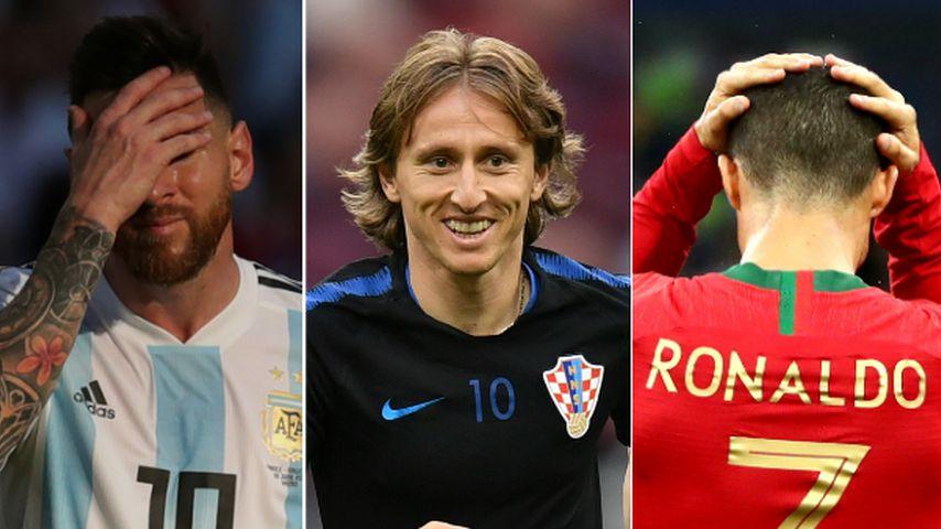 Weder Messi noch Ronaldo: Luka Modrić ist Weltfußballer 2018