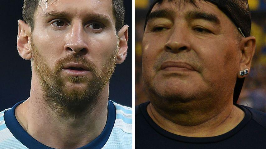 Messis Hilfe gefragt: Maradonas Sohn will seinen Vater ehren