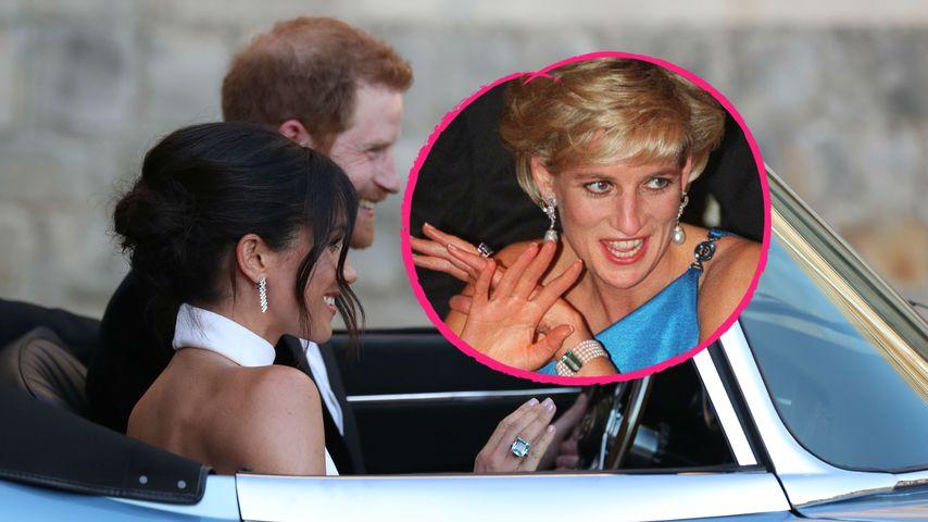 Nach Strauß-Tribut: Braut Meghan Markle trägt Dianas Ring!