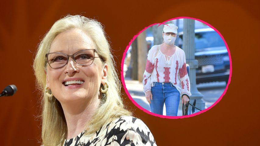 In Jeans und Boho-Bluse: So lässig stylt sich Meryl Streep