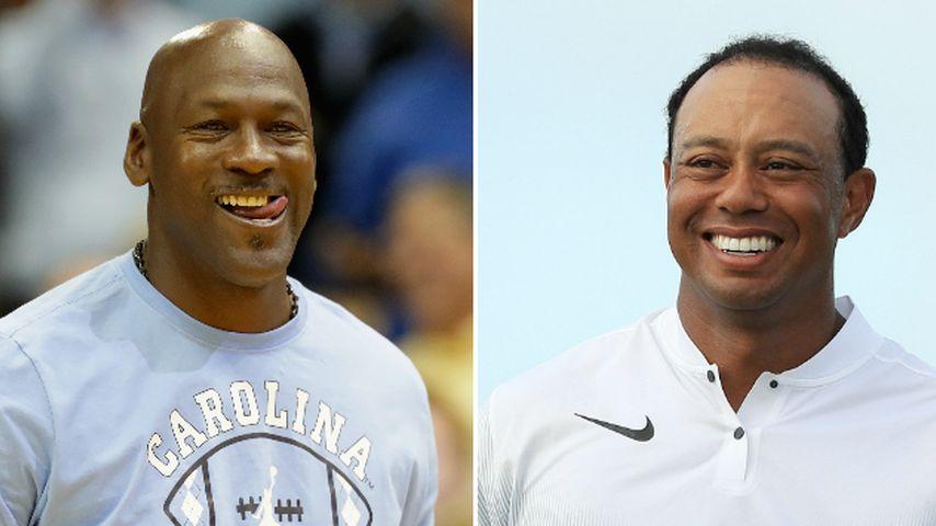 Michael Jordan und Tiger Woods