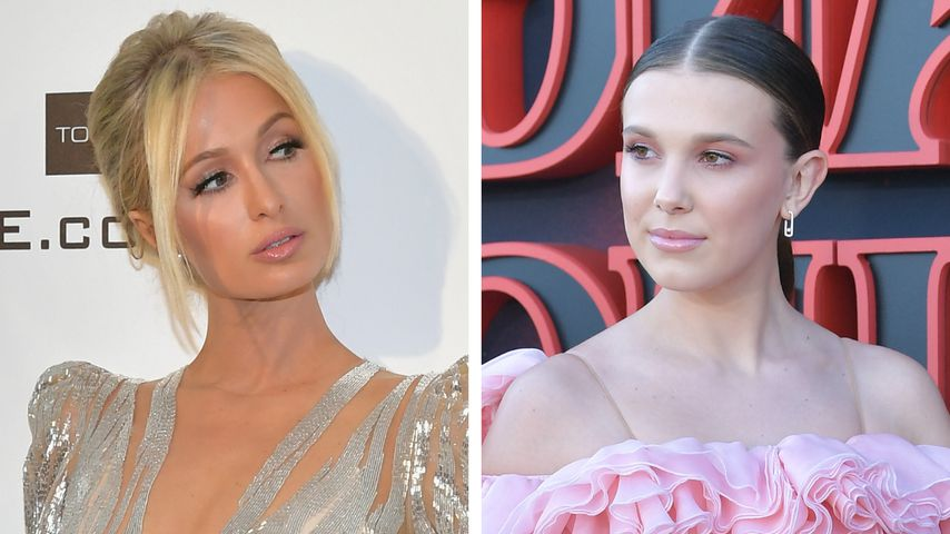"Unangebracht? Paris Hilton nennt Millie Bobby Brown ""heiß"""