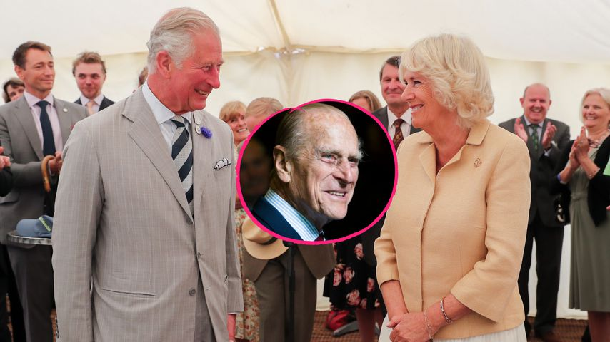 Zum 100.: Prinz Charles und Camilla ehren Prinz Philip (†)!