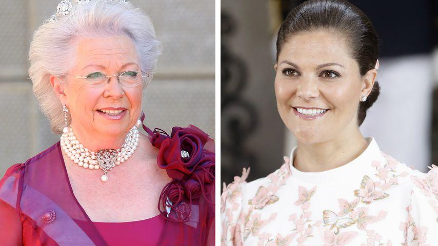 Trotz Krebs: Victorias Tante Christina feiert Royal-Bday mit