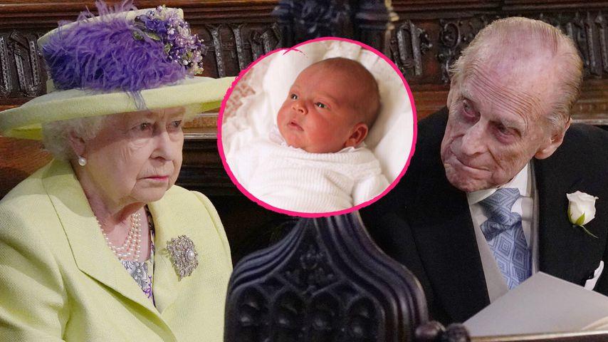 Zu Prinz Louis' Taufe: Queen & Prinz Philip kommen nicht!