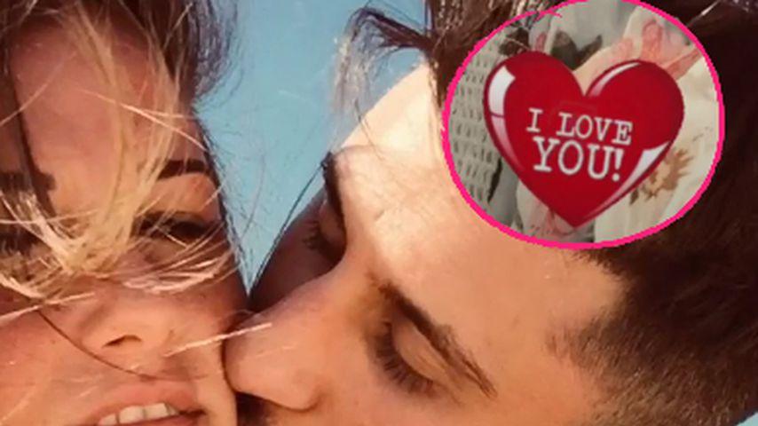 """Für ihren Roberto: Sarah Lombardi sagt """"Ich liebe dich""""!"""