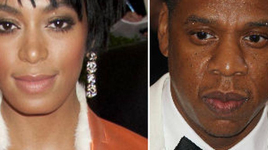 Solange Knowles und Jay-Z