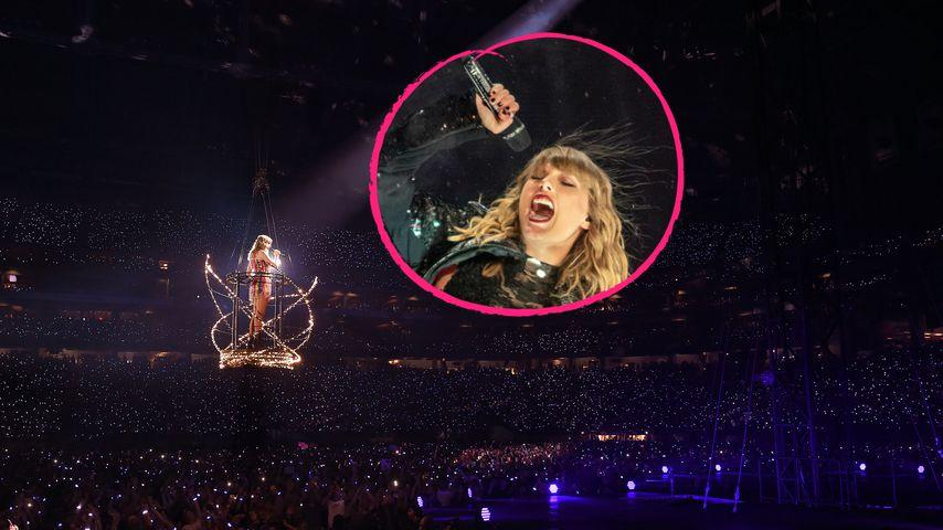 Show-Panne bei Konzert: Taylor Swift hing in der Luft fest