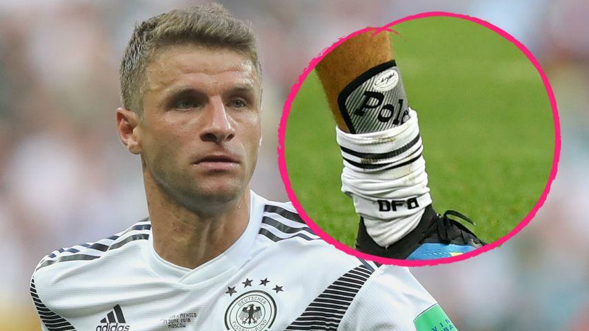 Poldis Bein-Schoner: Das ist Thomas Müllers WM-Talisman
