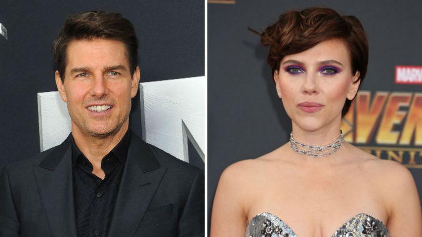 Bewerbung für Tom Cruise-Date? Scarlett Johansson stinksauer