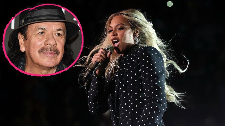 """Böse Worte von Carlos Santana: """"Beyoncé ist keine Sängerin!"""""""