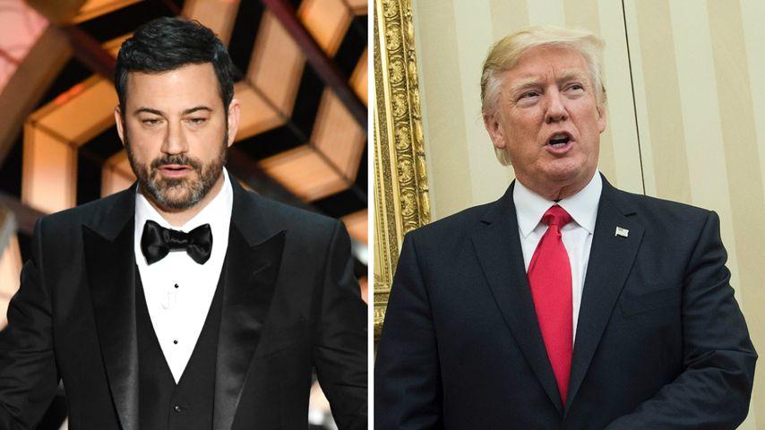 Sticheleien gegen Trump: Jimmy Kimmel teilt bei Oscars aus!