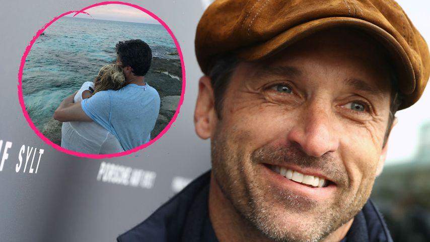 Wieder Total Verliebt Patrick Dempsey Teilt Liebes Pic Promiflashde