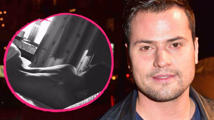 Erotischer Liebes-Post: So sexy zeigt Rocco seine Nathalie!
