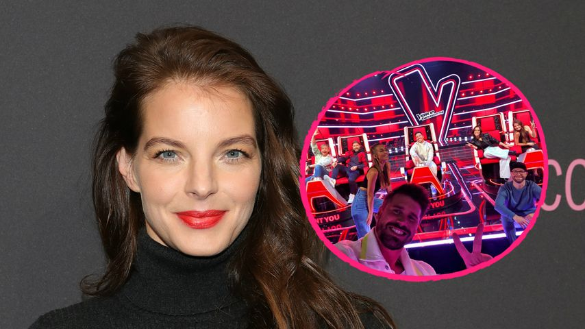 """Yvonne Catterfeld: So weit ist """"The Voice of Germany""""-Dreh!"""