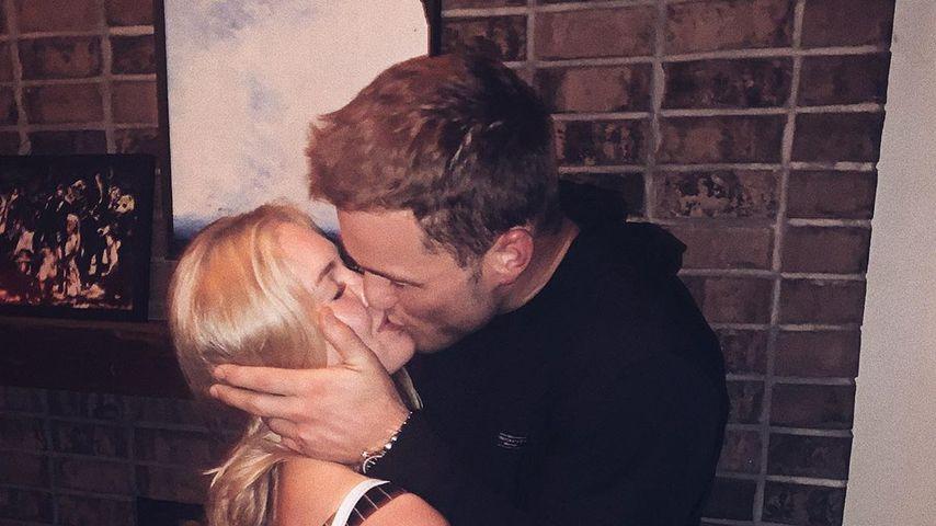 Der Ex-US-Bachelor Colton Underwood und Cassie Randolph