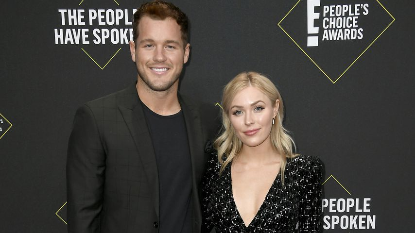 Colton Underwood und Cassie Randolph bei den 45. People's Choice Awards