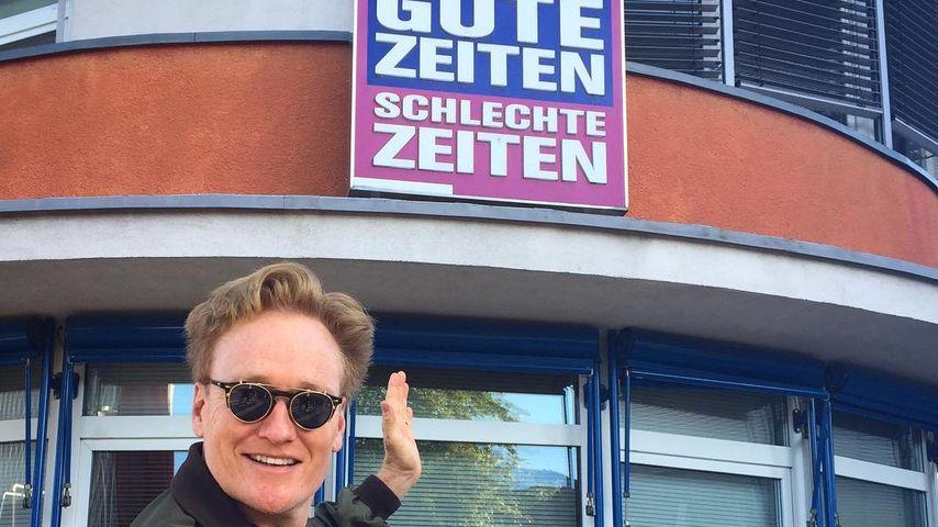 Berühmter Gast-Auftritt: US-Talker Conan O'Brien bei GZSZ!