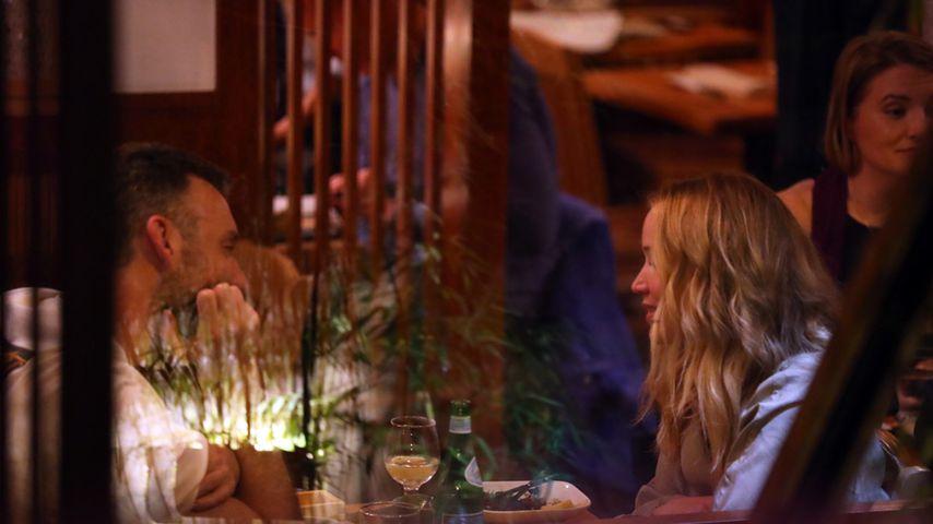Cooke Maroney und Jennifer Lawrence in New York City