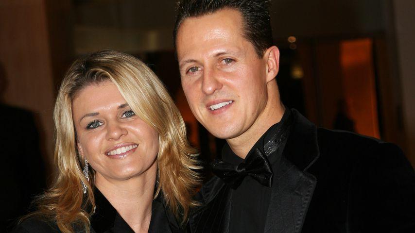 Corinna und Michael Schumacher bei der FIA Gala, Dezember 2006