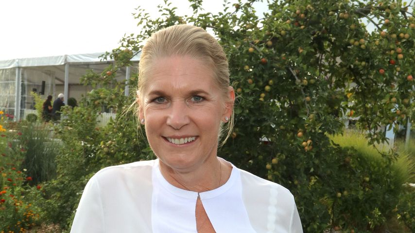 Cornelia Poletto beim Glow Glory-Charity-Dinner im August 2018