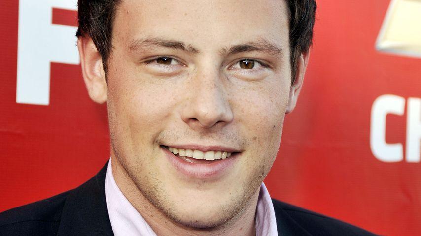 """Cory Monteith bei der Premiere von Fox's """"Glee"""" im Jahr 2009"""