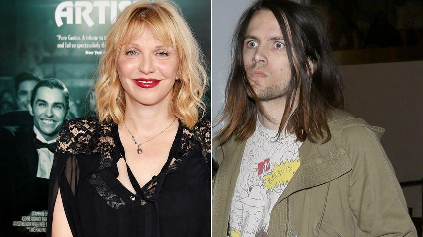 Mord-Versuch wegen Gitarre: Courtney Love vs. Tochter-Ex!