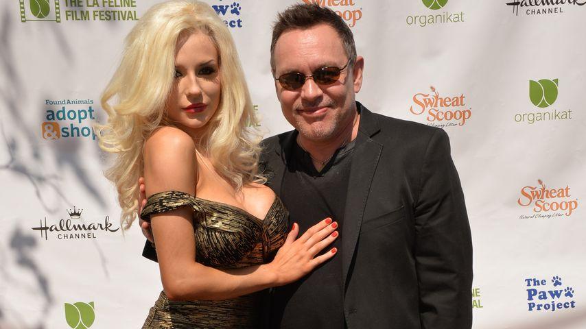 Courtney Stodden und ihr Ehemann Doug Hutchison