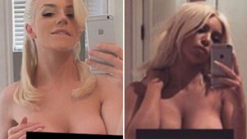 Nackte Kopie: Courtney Stodden ahmt Kim Kardashian nach!