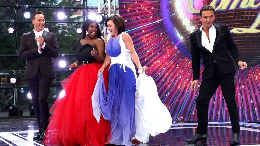 "Die ""Strictly Come Dancing""-Jury Craig Revel Horwood, Motsi Mabuse, Shirley Ballas und Bruno Tonioli"