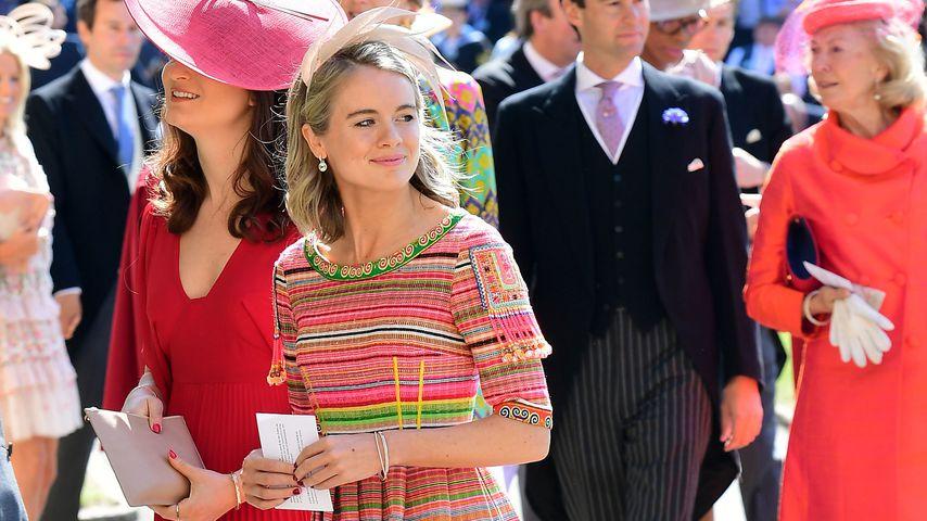 Cressida Bonas bei der Hochzeit von Harry und Meghan