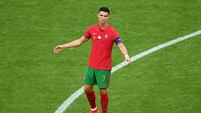 Cristiano Ronaldo 2021 beim EM-Spiel gegen Deutschland