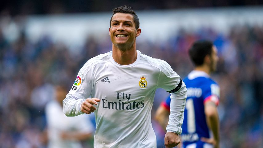 Cristiano Ronaldo beim Spiel Real Madrid gegen Deportivo La Coruna im Mai 2016