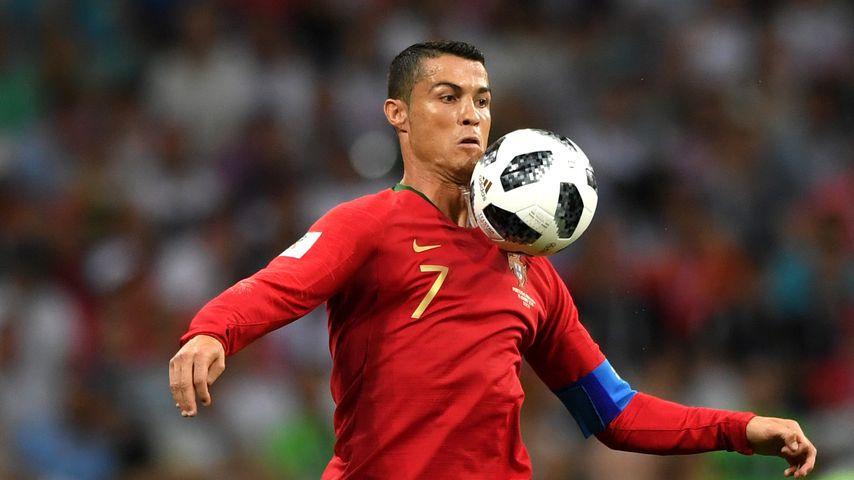 Cristiano Ronaldo im WM-Spiel gegen Spanien 2018