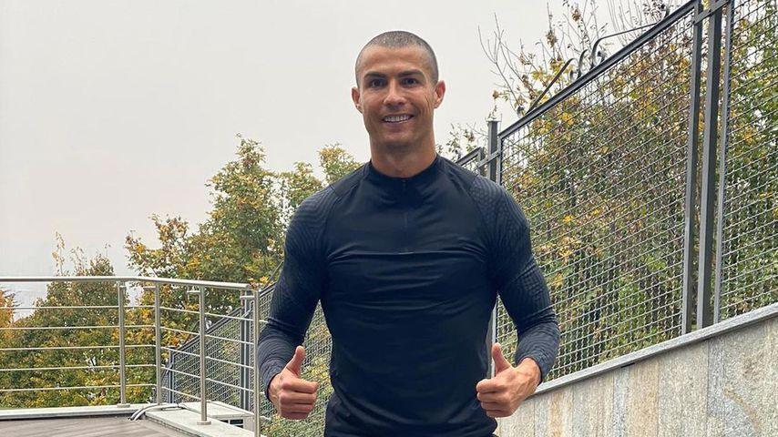 Nach Quarantäne: Cristiano Ronaldo hat eine neue Frisur