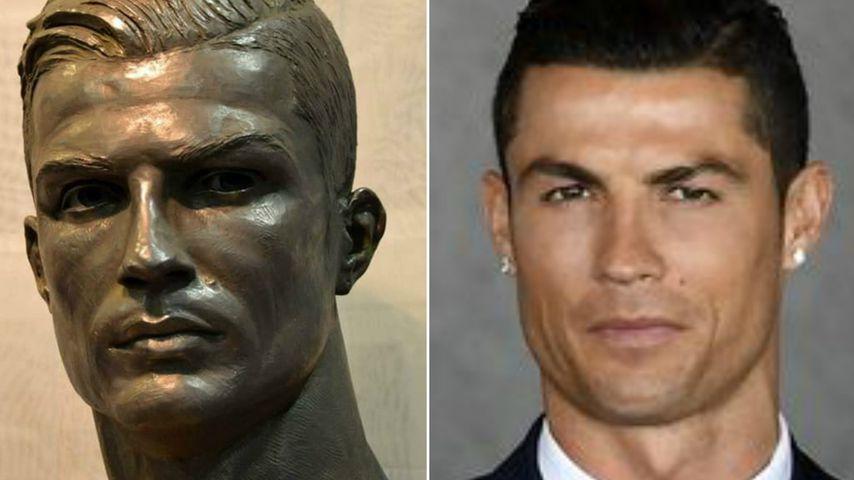 Besser als die 1.? Neue Cristiano Ronaldo-Skulptur enthüllt