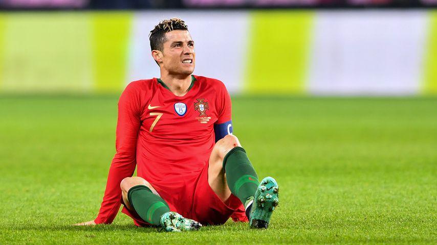 Cristiano Ronaldo beim Freundschaftsspiel gegen die Niederlande