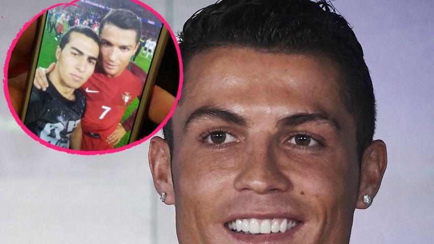 Da ist das Ding! Fan zeigt Selfie mit Cristiano Ronaldo